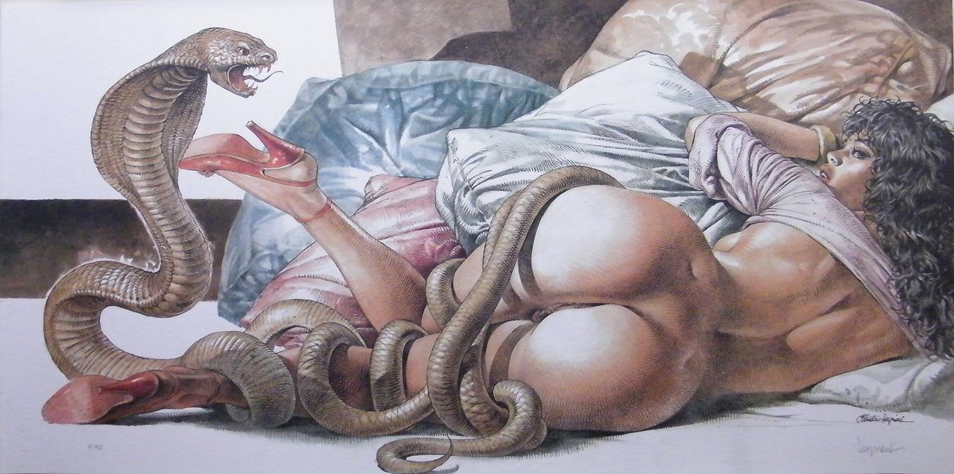 Porn snake fantasy erotic movies